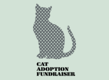 cat adoption fundraiser t­-shirt idea