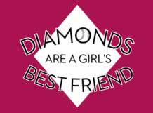 girls best friend softball t shirt design