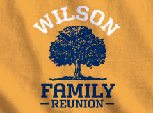 design ideas - Family Reunion Shirt Design Ideas
