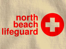 North Beach Lifeguard Shirt Template