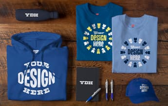 f8d713e09 Quality ideas deserve quality products. That's why our full selection of custom  apparel is designed to be worn and shown off over and over again.