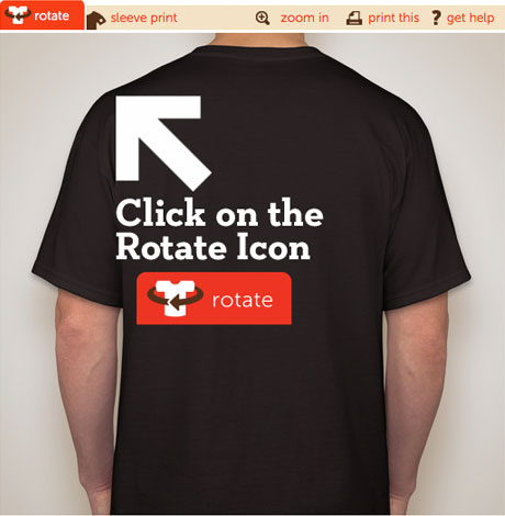 Placement of design on back t shirt best place 2017 for Best place to get t shirts printed