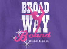 Broadway Theme T-Shirt Design