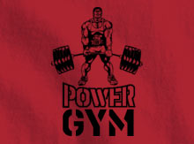 Power Gym T-Shirt Design Template