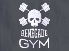 Renegade Gym T-Shirt Design Template