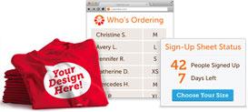Online Sign-up Sheet